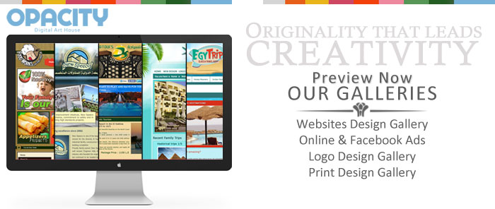 Web Design Egypt .. Preview Our Gallery
